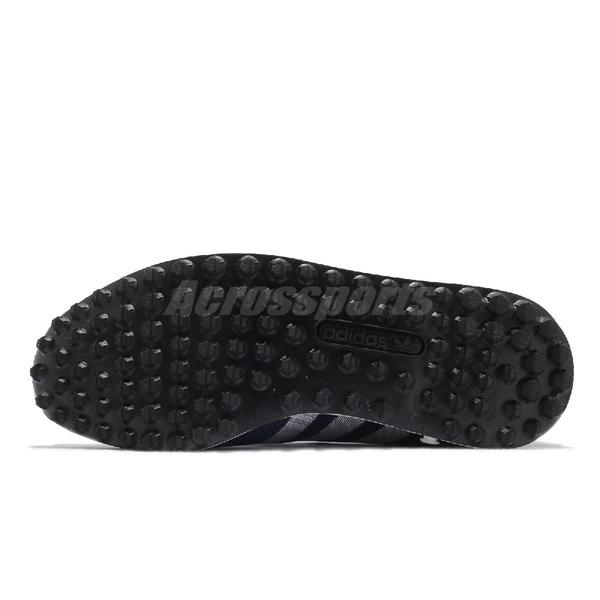 【海外限定】adidas 休閒鞋 LA Trainer Weave 藍 白 男鞋 經典款 復古 愛迪達 【ACS】 M21357