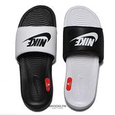 NIKE 拖鞋 VICTORI ONE SLIDE MIX 運動拖鞋 黑白 陰陽 男 (布魯克林) DD0234-100