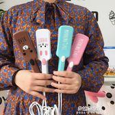 韓國卡通大波浪蛋捲棒水波紋蛋糕捲發棒三棒波浪捲發器夾板燙發器  朵拉朵衣櫥