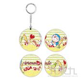 哆啦A夢(甜蜜糖果)立體球型拼圖鑰匙圈24片