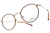 CARIN 光學眼鏡 PENNY C2 (琥珀棕-金) 韓星秀智代言 質感簡約鏡框 # 金橘眼鏡