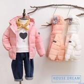 兒童羽絨服 洋氣秋冬裝新款女童寶寶羽絨服輕薄款小童兒童裝短款外套 HD