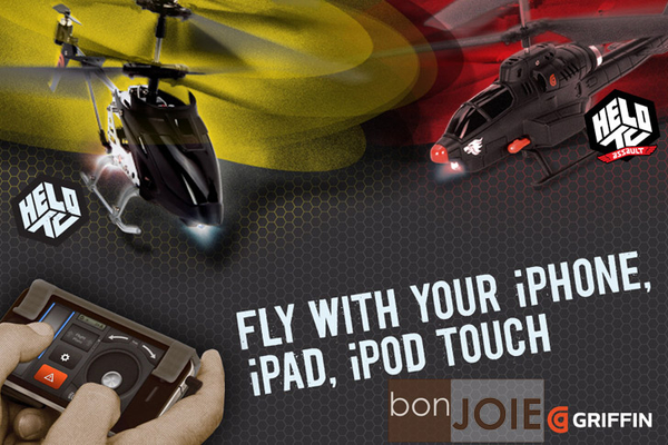 ::bonJOIE:: Griffin Helo TC Controlled Helicopter 觸控 遙控 直升機 (iPhone / iPad / iPod / android 專用) 直昇機