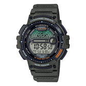 CASIO 手錶專賣店卡西歐 WS-1200H-3A CASIO 釣魚模式 月相資訊 樹脂錶帶 防水100米 LED照明