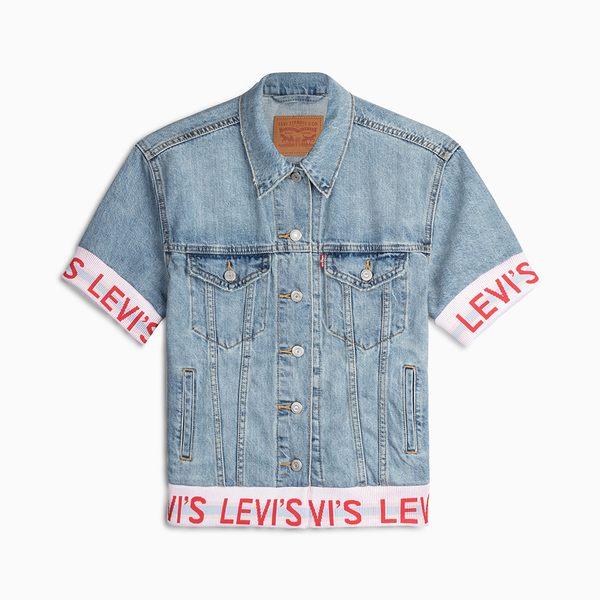 [第2件1折]Levis 牛仔外套 女裝 / LOGO滾邊