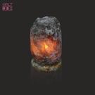 鹽燈專家【鹽晶王】正宗巴基斯坦國寶級深藍鹽燈3-4kg《青玉石底座》《一入組》開運必備。