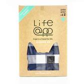 【Lifeapp】寵物緩壓睡墊布套-不含睡墊(M)藍白格M