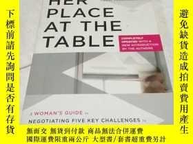 二手書博民逛書店Her罕見Place at the Table(英文原版)Y68