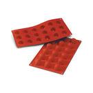義大利進口《Silikomart》18連小鑽石型矽膠模/冰模/30.048.00.0060