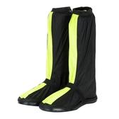 牛津布高筒登山騎行防雨鞋套男女防水雨天加厚防滑耐磨底戶外防雪