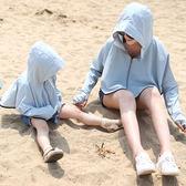 新款防曬衣服女童夏親子空調衫透氣沙灘外套騎車防紫外線帶帽