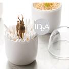 IDEA 免運 棉花棒 收納盒 牙線盒 居家 生活 裝飾 家具配件 盒子