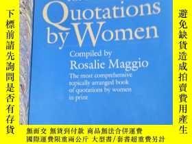 二手書博民逛書店the罕見beacon book of quotations b