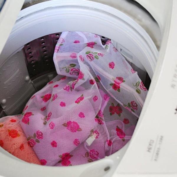 【DX259C】印花細網洗衣袋50x60cm 衣物洗衣袋 細孔 洗衣機專用洗衣網 EZGO商城