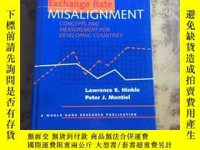 二手書博民逛書店Exchange罕見Rate Misalignment: Con