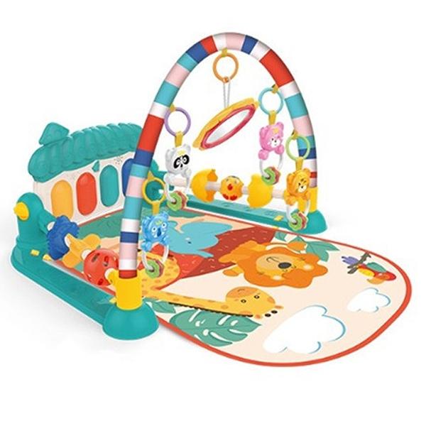 蘑菇腳踏琴健身架 動物鋼琴 嬰兒腳踏鋼琴 踢踢琴 健力架 遊戲墊 遊戲毯 0629 好娃娃