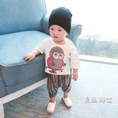 (百貨週年慶)童裝寶寶棉質短袖T恤嬰兒上衣2018男童夏裝兒童體恤衫