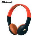 《Skullcandy》Uproar阿波羅 小耳罩式藍芽耳機-橘海軍藍