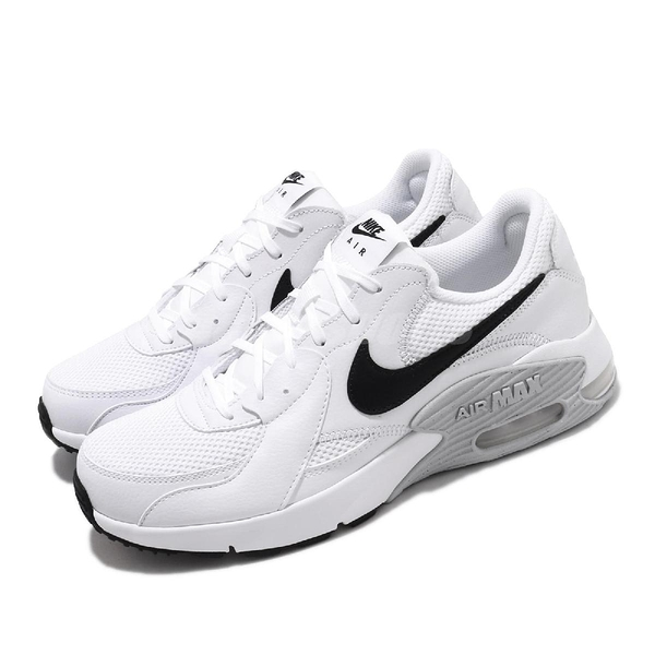 Nike 休閒鞋 Air Max Excee 白 黑 男鞋 運動鞋 【PUMP306】 CD4165-100