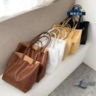 手提包百搭側背包大容量簡約托特包女款包包【邻家小鎮】
