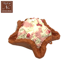 草莓款【日本進口】冰淇淋 餅乾 捏捏吊飾 吊飾 捏捏樂 軟軟 cafe de n squishy 捏捏 - 618689
