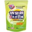 依必朗抗菌洗衣皂洗衣精抹草補充包1800g【愛買】