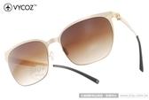VYCOZ 太陽眼鏡 BUNKER GOLGD (金) 薄鋼工藝 休閒簡約款 # 金橘眼鏡