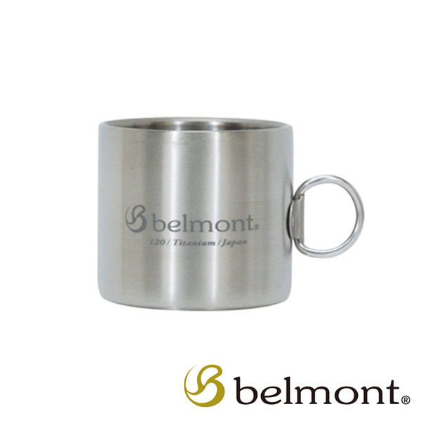 BELMONT 日本 雙層鈦製馬克杯〈120ml〉日本製造│原裝進口│精品│頂級鈦合金 BM-300