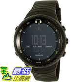 [105美國直購] Suunto Men s 男士手錶 Core All Black SS014279010 Black Resin Quartz Watch