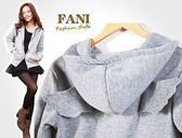 ~方妮FaNi ~韓國  ~天使翅膀外套~可內搭褲襪披肩長大衣毛衣罩衫斗篷圍巾雪靴