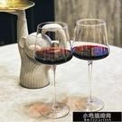 酒杯 2個水晶禮盒一對情侶大號高腳杯家用方形勃艮第杯玻璃酒杯 【全館免運】