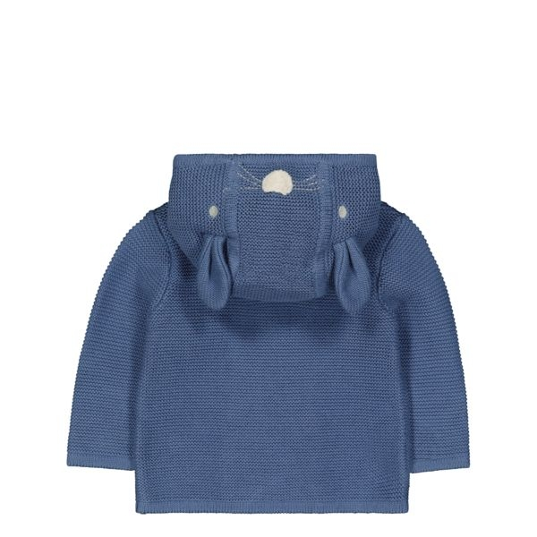 mothercare 藍色兔子連帽外套-外出系列(M0QD830)06M、12M、18M