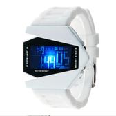 兒童手錶—LED電子錶男女學生多功能創意手錶夜光防水運動計時兒童個性腕錶 草莓妞妞
