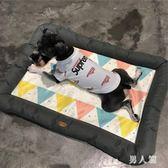 寵物潮涼墊狗狗夏季涼窩睡墊涼席法斗泰迪窩 QW8703『男人範』