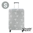 PolarStar 飛機印花行李箱套『S』(18-20吋) 1717034A-S 出國.旅行.行李箱.登機箱.保護套.防護套.防塵套
