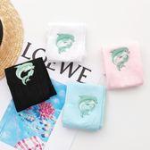 兒童卡通防曬手臂袖男童女童韓國夏天冰絲袖套薄款寶寶小孩護袖冰 金曼麗莎