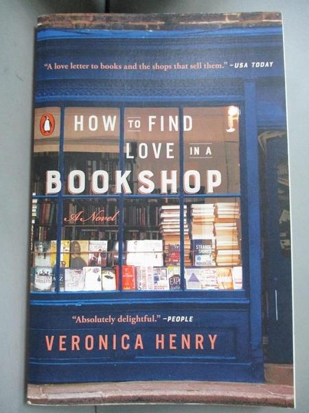 【書寶二手書T5/一般小說_A4M】How to Find Love in a Bookshop_Henry, Vero