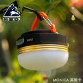 營燈 戶外照明掛燈強光野外燈野營燈營地燈USB帳篷燈露營燈led充電馬燈 美斯特精品