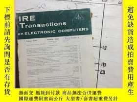 二手書博民逛書店IRE罕見Transaction on electronic c