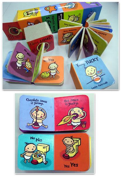 【麥克書店】 4本迷你小書 BABY'S BOOK TOWER/BOXED SET