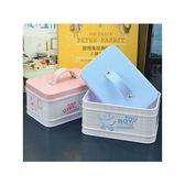 [全館5折-現貨] 提手 小方盒 創意 鐵盒 收納盒 紙膠帶收納 小物收納 辦公室 桌面收納 收納盒 小物
