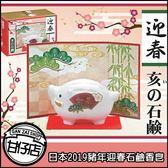 日本2019 豬年 迎春石鹼 香皂 美容皂68g 石鹼 造型皂 開運 招福 祈福 甘仔店3C配件