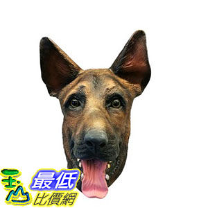 [103美國直購] 德國牧羊犬俱樂部的臉面具 Off the Wall Toys Kennel Club - German Shepherd Face Mask $1286