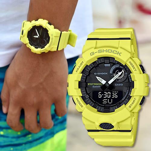 G-SHOCK GBA-800-9A 智慧型藍芽手錶 GBA-800-9ADR 熱賣中!
