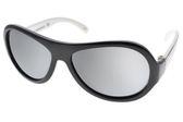 SHADEZ 兒童太陽眼鏡 SH15SHZ3 C21 (黑白-白水銀) 無毒可彎折設計款 適合3-7歲 # 金橘眼鏡
