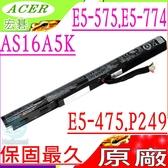 ACER 電池(原廠)-宏碁 AS16A5K,AS16A7K,AS16A8K,K50-20,N1602,E5-575G-53B8,E5-575G-53VG,E5-575G-549D,E5-475G