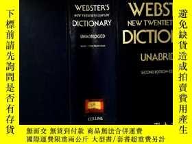 二手書博民逛書店Webster s罕見New Twentieth Century
