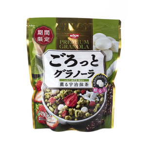 日本日清宇治抹茶早餐麥片BIG 400g