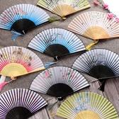 古風扇子流蘇中國風古代女式舞蹈折疊