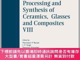 二手書博民逛書店預訂Innovative罕見Processing And Synthesis Of Ceramics, Glass
